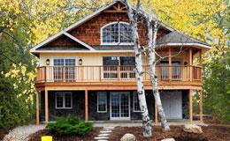 Cedar Mill Log Homes Log Houses Log Packages Log Home Kits Log - Small post and beam homes